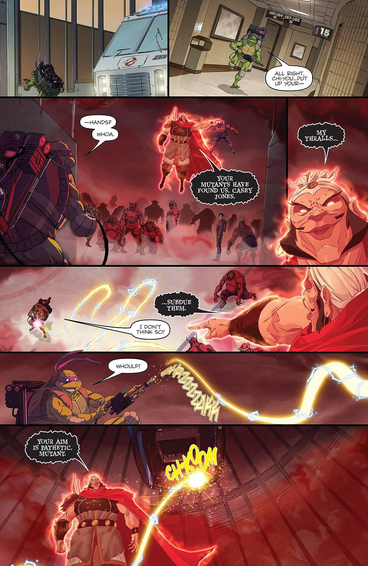 Teenage Mutant Ninja Turtles/Ghostbusters #3 (of 4)