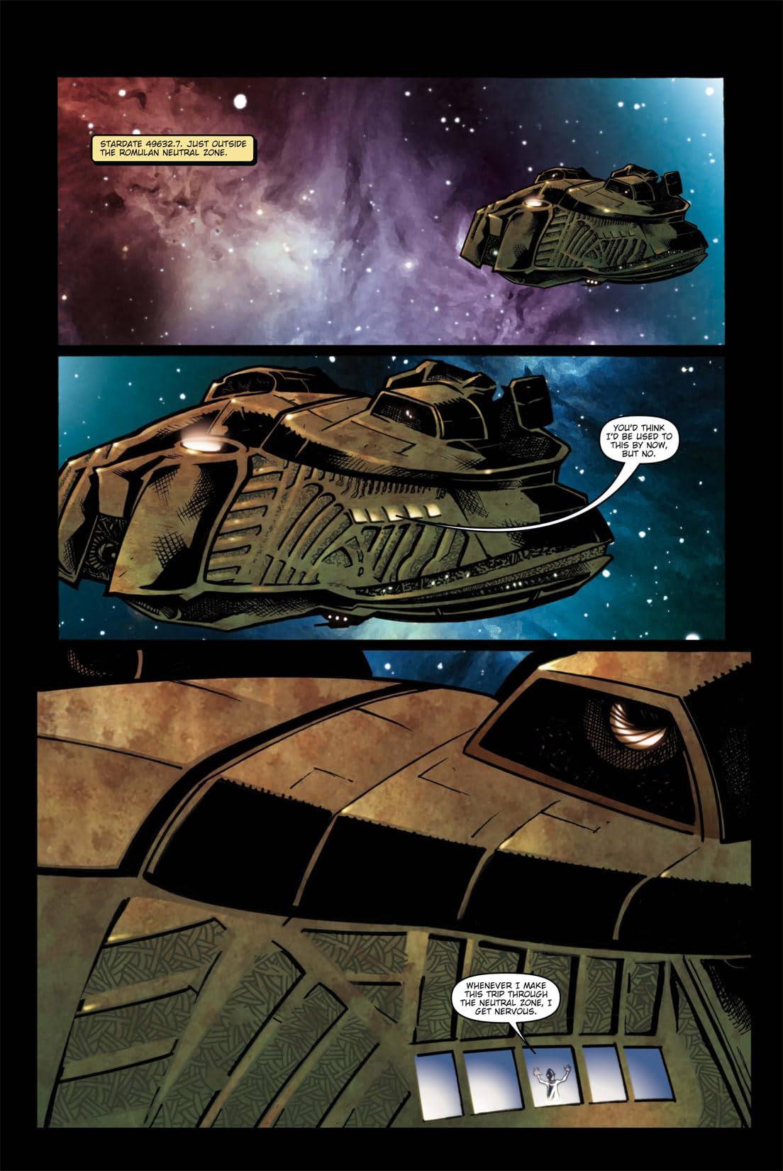Star Trek: Spock Reflections #1