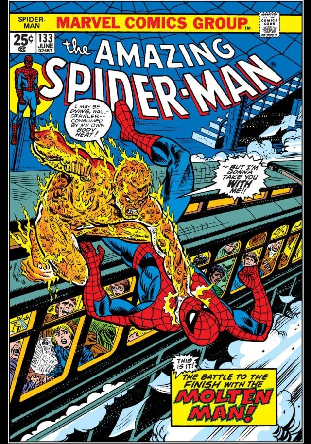 Amazing Spider-Man (1963-1998) #133
