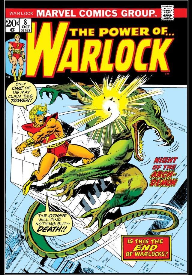 Warlock (1972-1976) #8