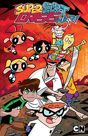 Cartoon Network: Super Secret Crisis War! Tome 1