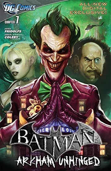 Batman: Arkham Unhinged #7