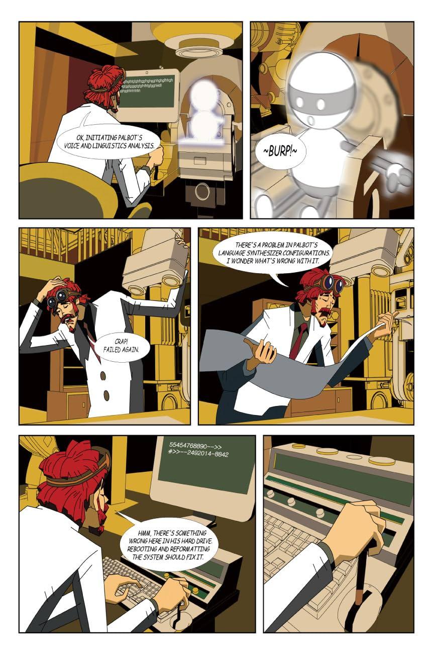 Rumble Pak 2008 #2: Mega 18 & Palbot and Mr. Kim Come to America