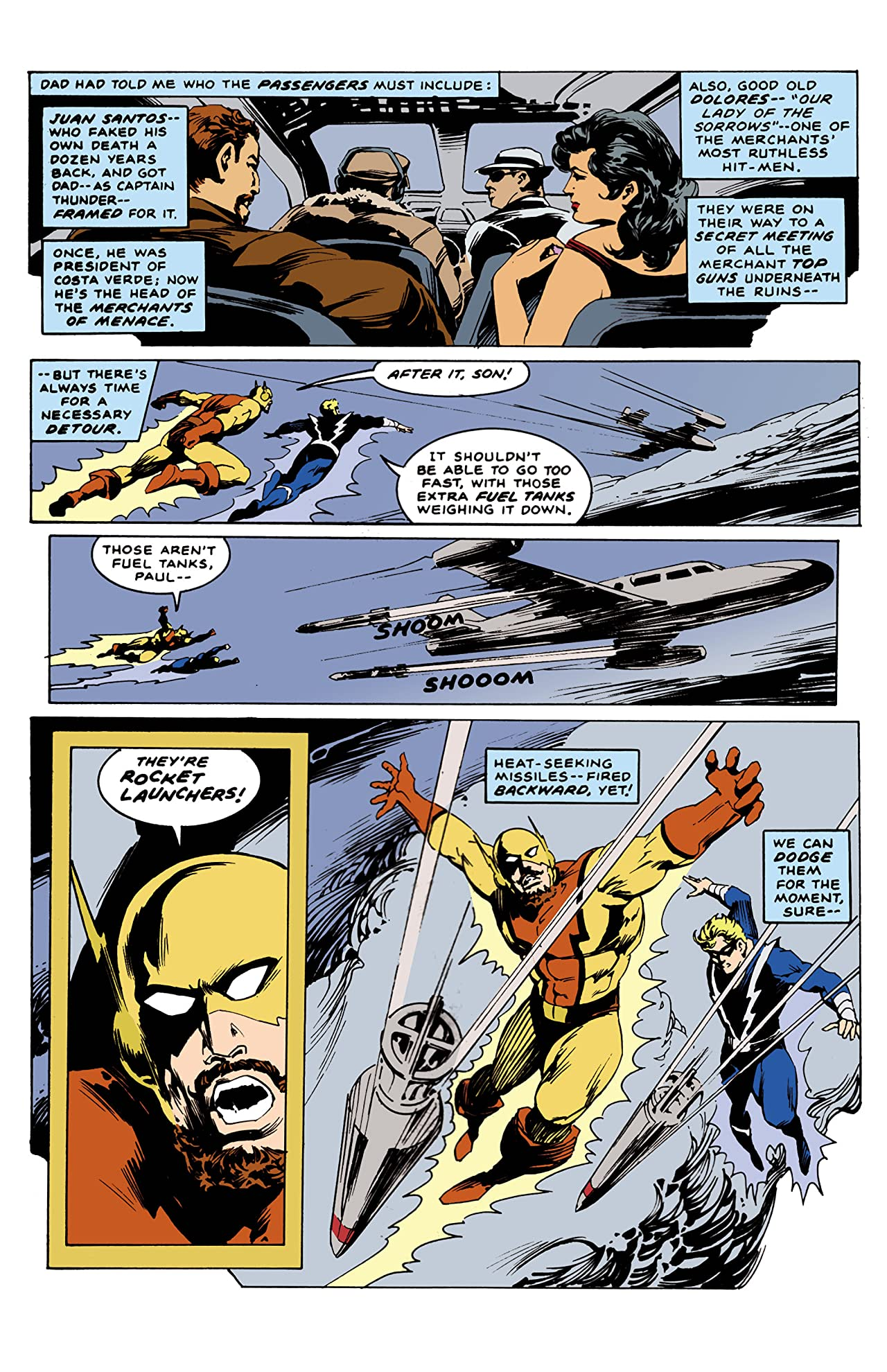 Captain Thunder and Blue Bolt #12