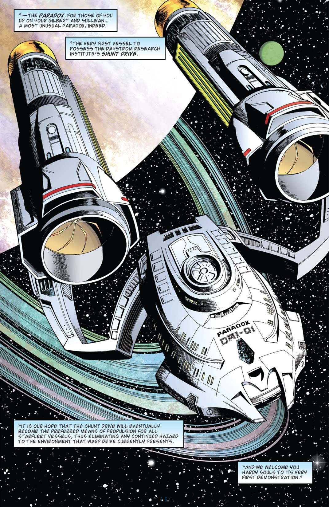 Star Trek: New Frontier #1