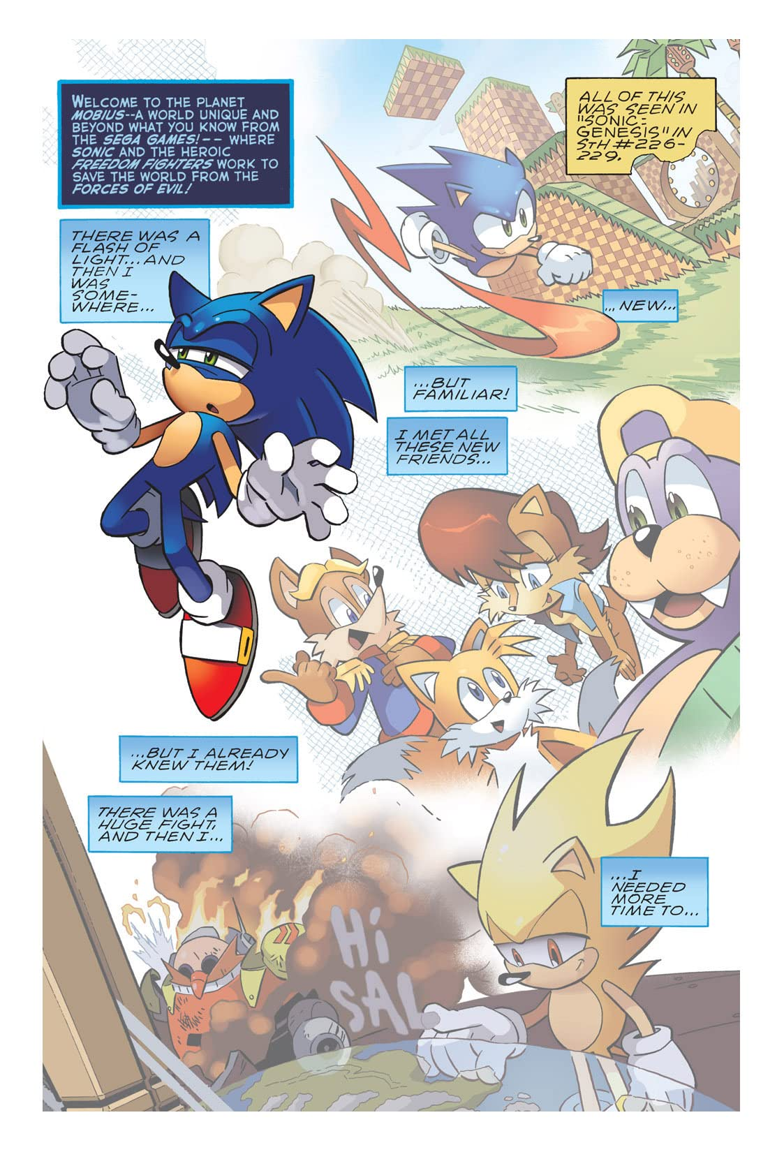 Sonic the Hedgehog #230