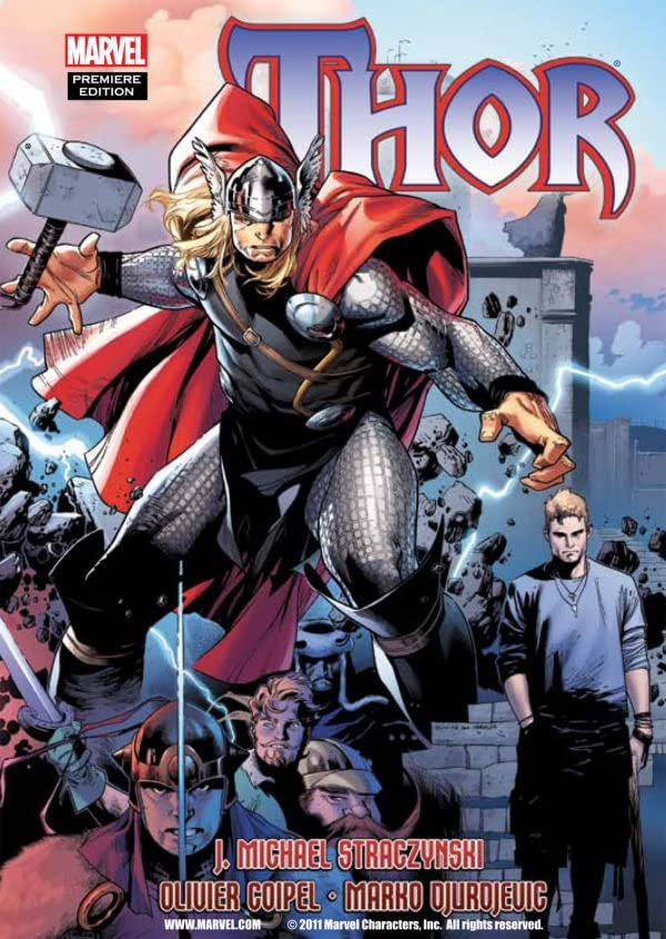 Thor By J. Michael Straczynski Vol. 2