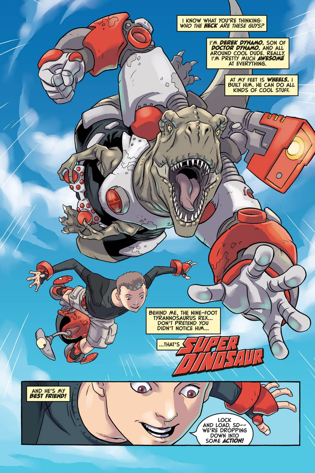 Super Dinosaur Tome 1