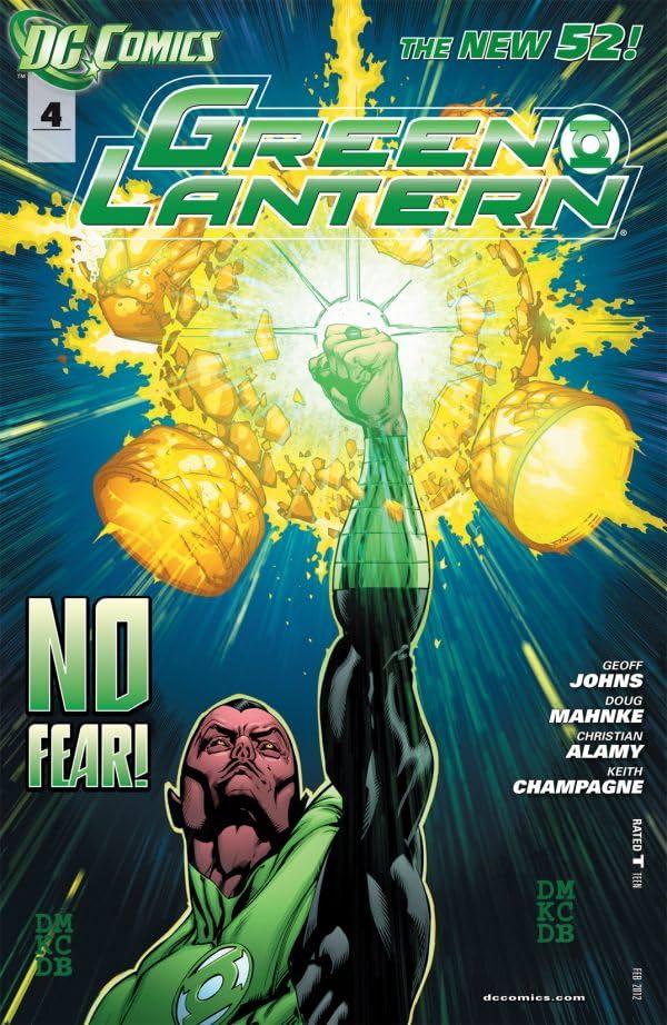 Green Lantern (2011-) #4