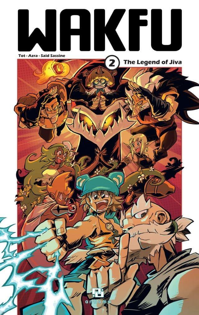 WAKFU Manga Vol. 2: The Legend of Jiva