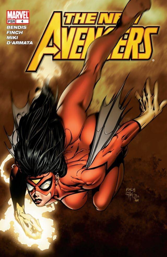 New Avengers (2004-2010) #4