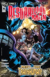 Resurrection Man (2011-2012) #4