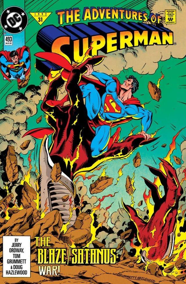 Adventures of Superman (1986-2006) #493