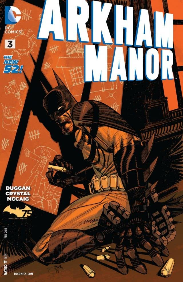 Arkham Manor (2014-2015) #3