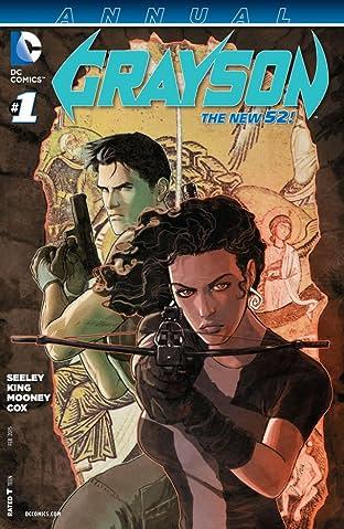 Grayson (2014-2016): Annual #1