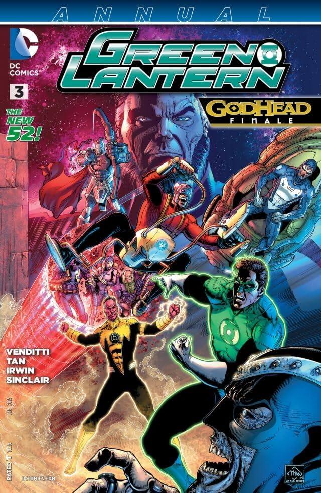 Green Lantern (2011-2016): Annual #3
