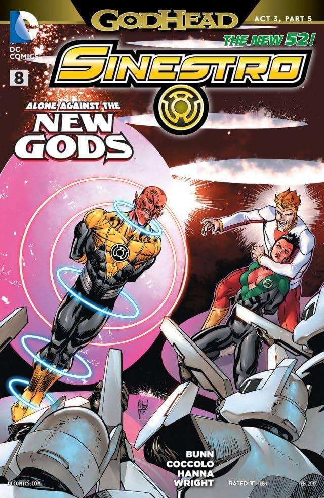 Sinestro (2014-2016) #8