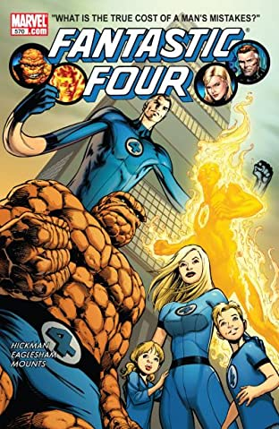 Fantastic Four (1998-2012) No.570