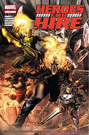 Heroes For Hire (2010-2011) No.1