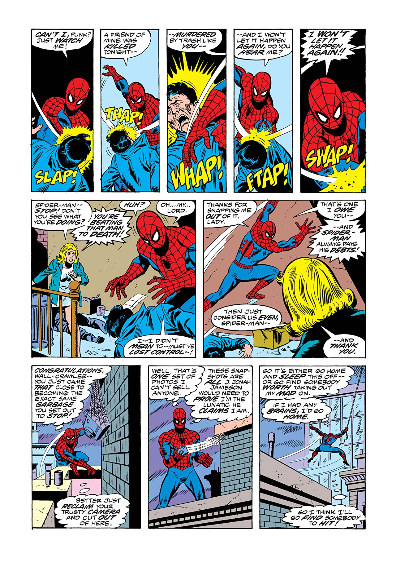 Amazing Spider-Man (1963-1998) #154