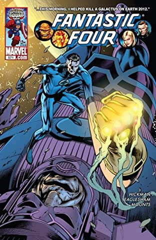 Fantastic Four (1998-2012) No.571