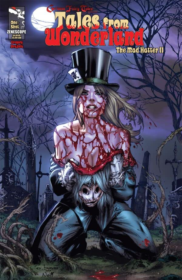 Tales From Wonderland: Mad Hatter #2 (of 2)