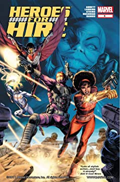 Heroes For Hire (2010-2011) No.5