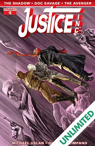 Justice, Inc. #5 (of 6): Digital Exclusive Edition