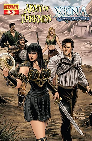 Army of Darkness/Xena: Warrior Princess - Why Not? No.3 (sur 4)