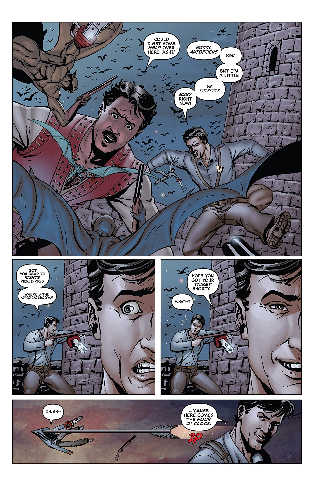 Army of Darkness/Xena: Warrior Princess - Why Not? #4 (of 4)