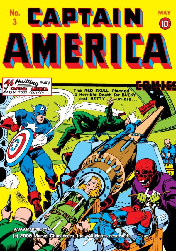 Captain America Comics (1941-1950) #3