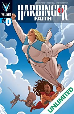 Harbinger: Faith #0: Digital Exclusives Edition