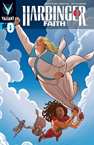 Harbinger: Faith No.0: Digital Exclusives Edition
