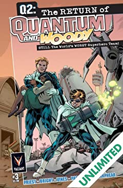 Q2: The Return of Quantum and Woody (2014) #3 (of 5): Digital Exclusives Edition