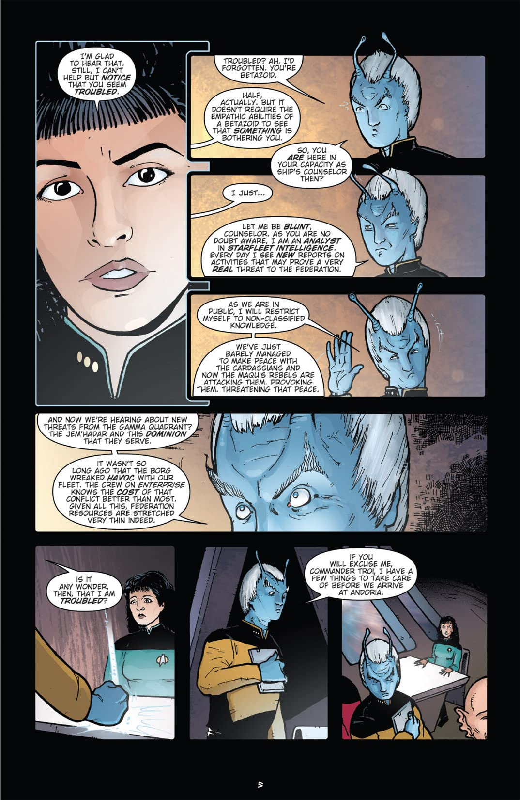Star Trek: Alien Spotlight - Andorians