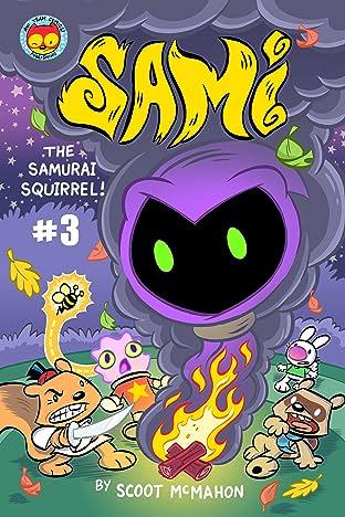 Sami the Samurai Squirrel #3