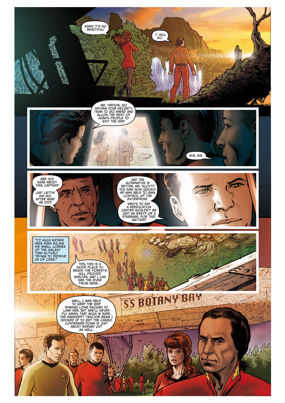 Star Trek: Khan - Ruling in Hell #1