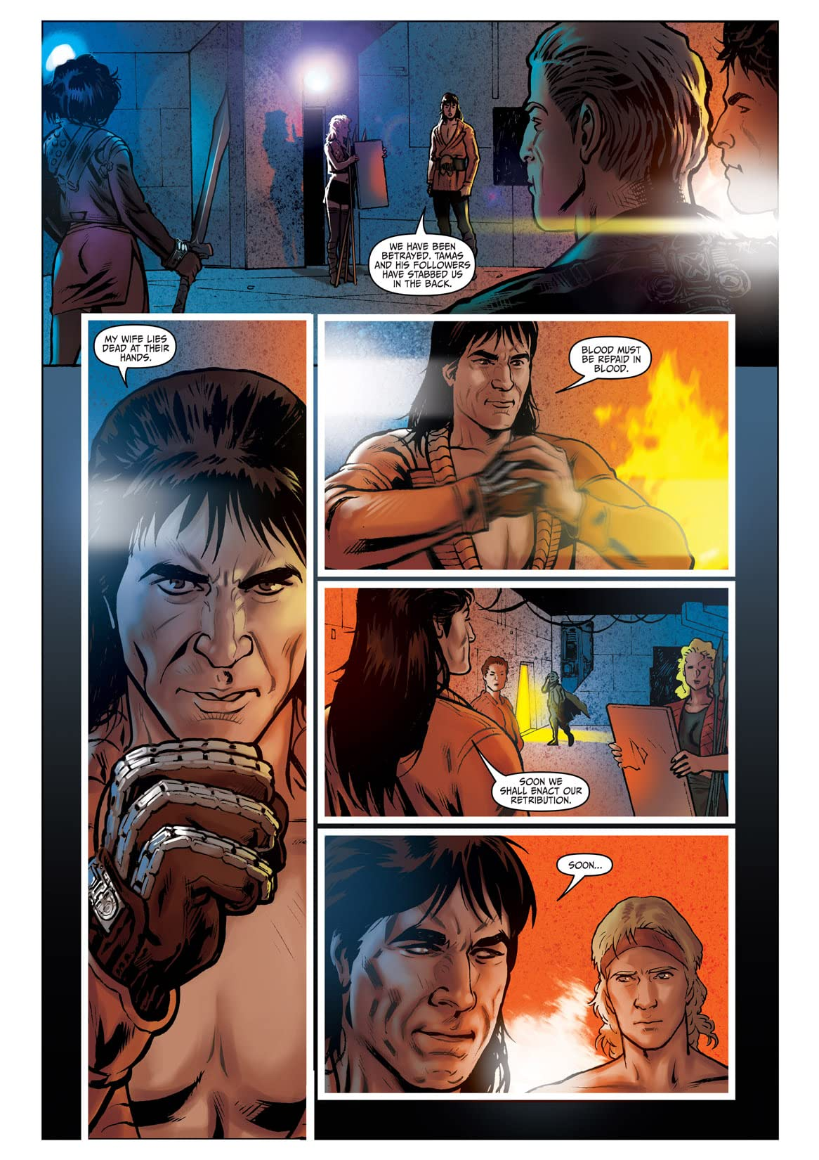 Star Trek: Khan - Ruling in Hell #4