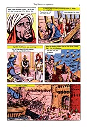 Classics Illustrated JES #6: The Battle of Lepanto