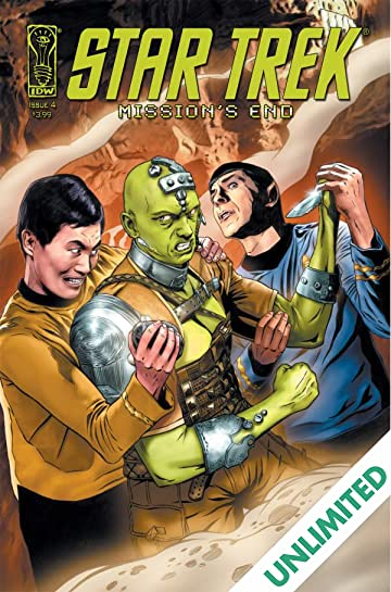 Star Trek: Mission's End #4