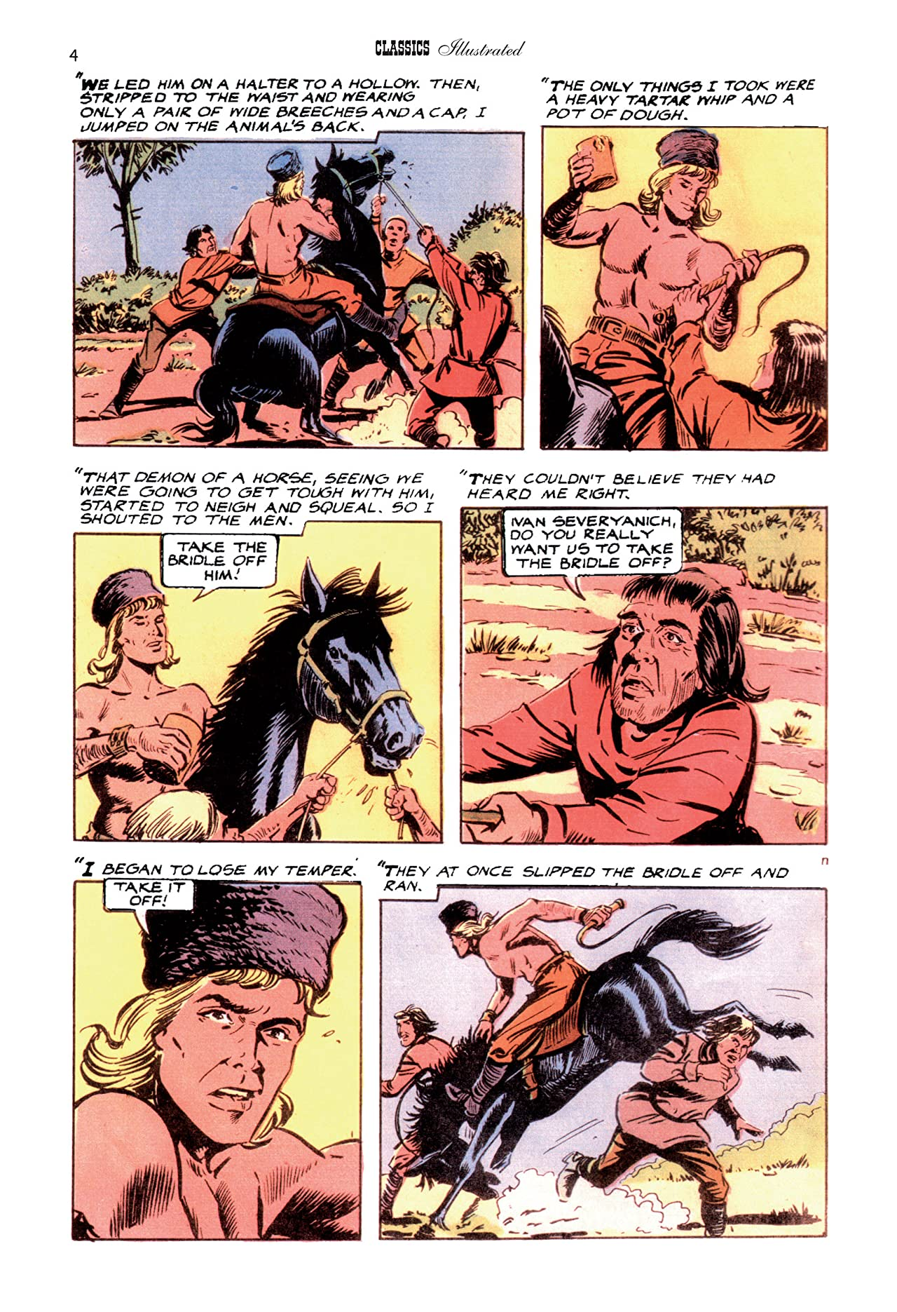 Classics Illustrated JES #14: The Wandering Horseman
