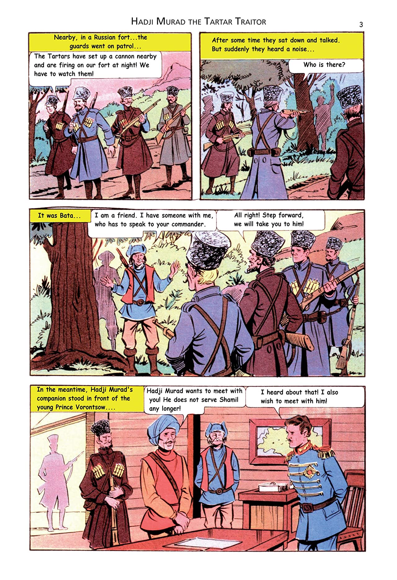 Classics Illustrated JES #16: Hadji Murad the Tartar Traitor