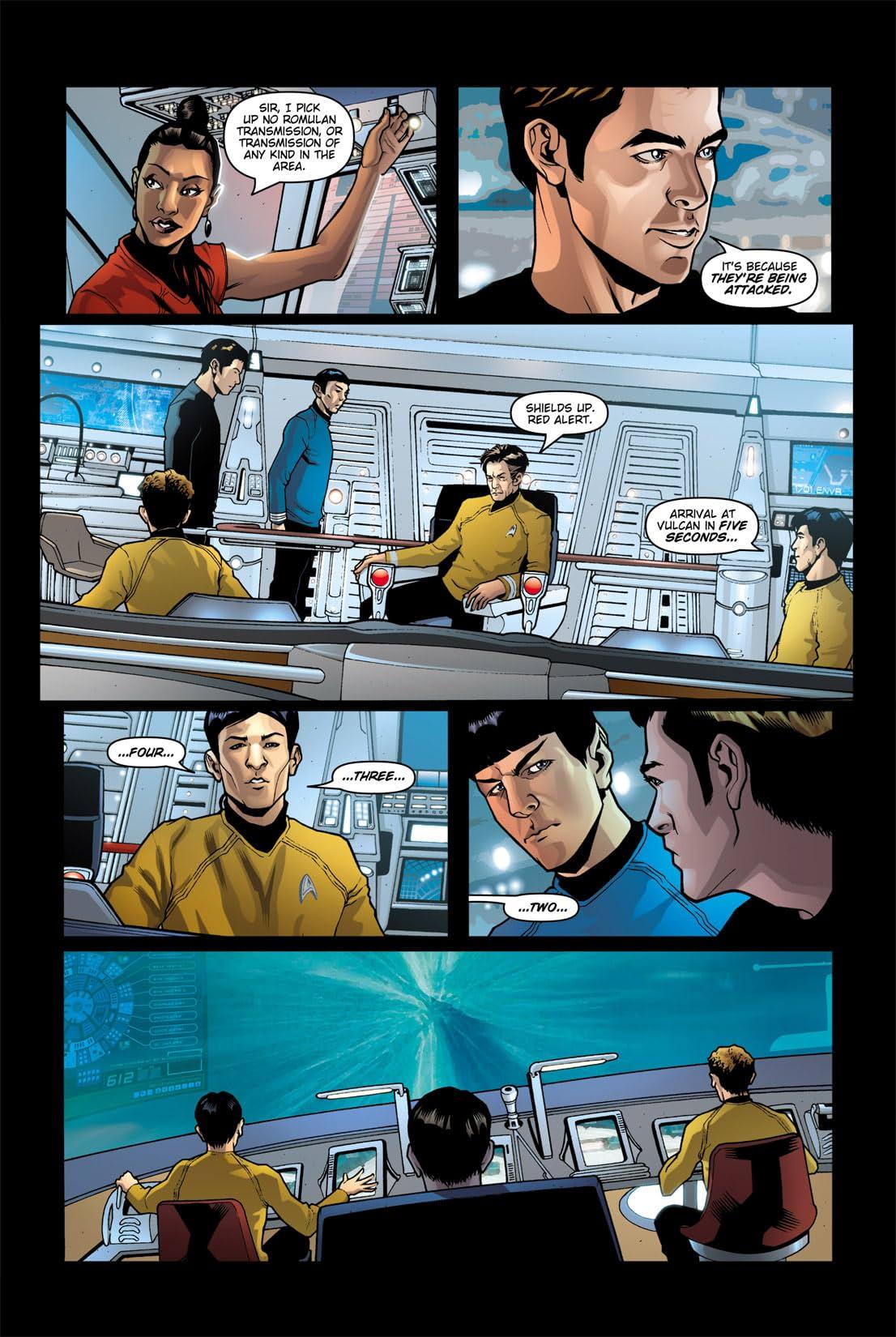 Star Trek: Movie Adaptation #4