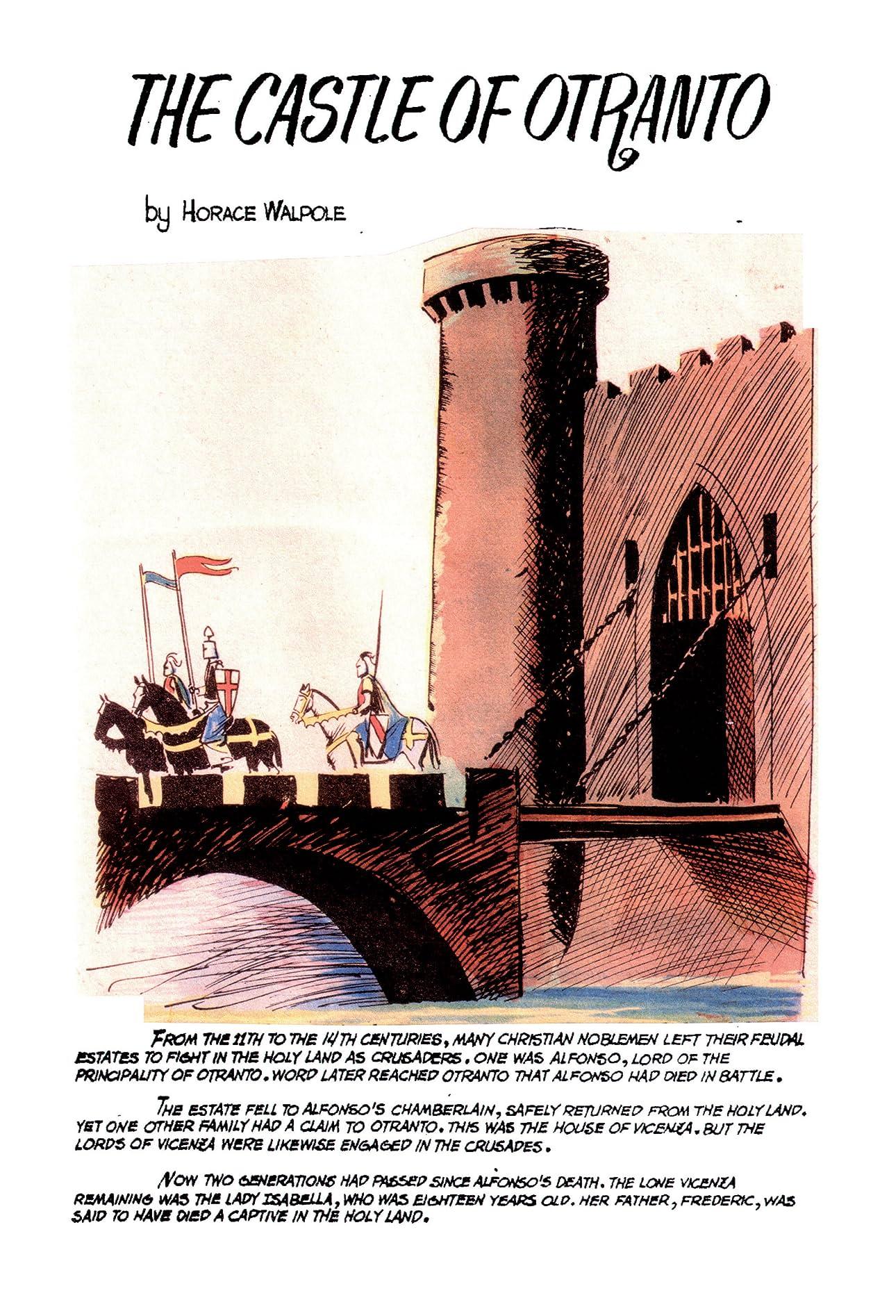 Classics Illustrated JES #18: The Castle of Otranto