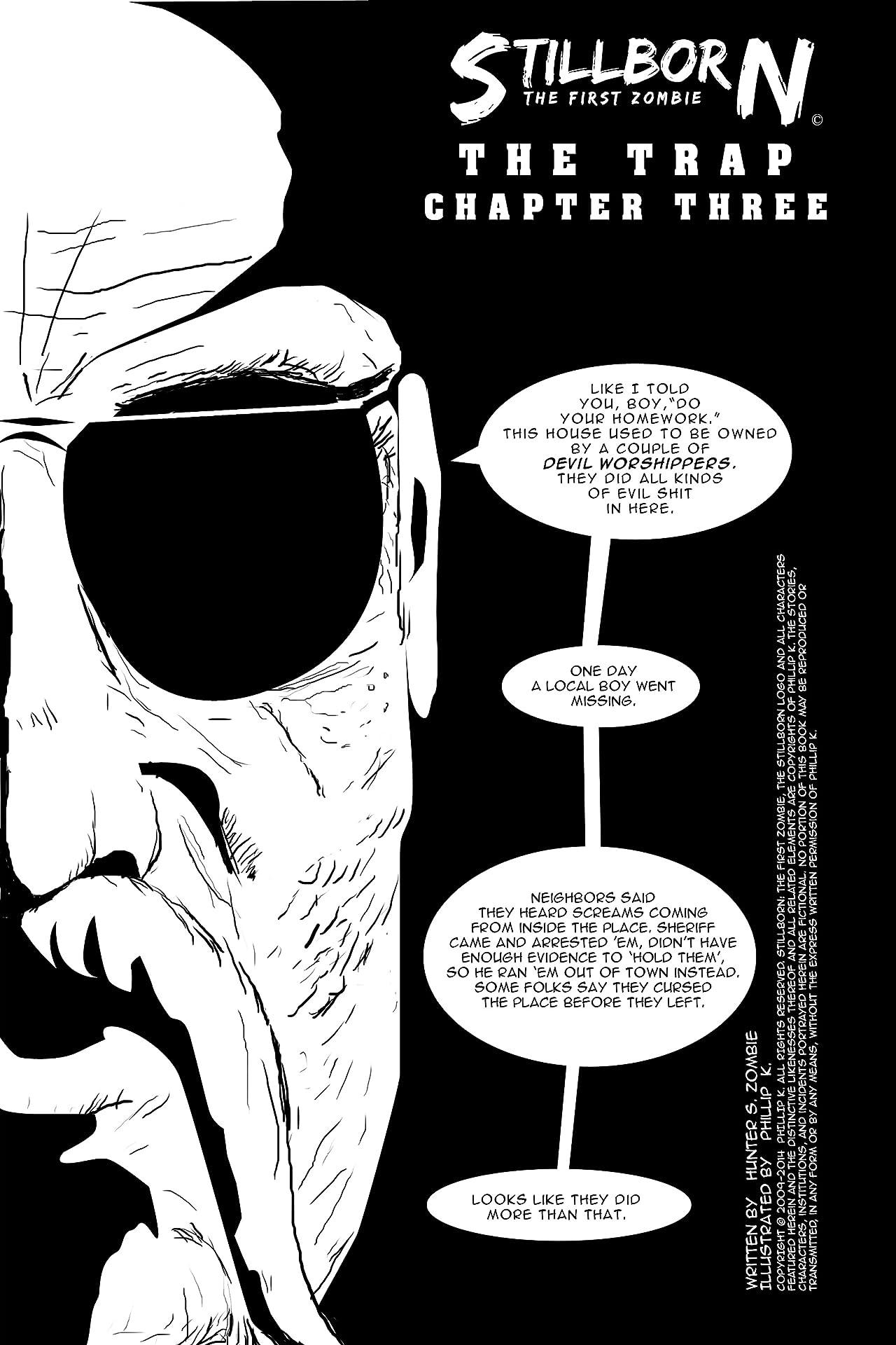 Stillborn: The First Zombie #3