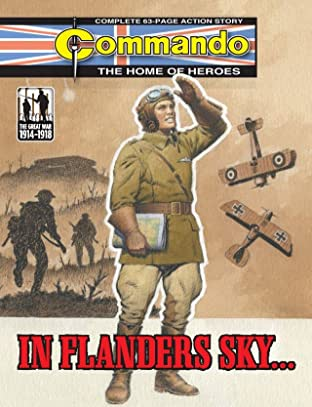 Commando #4747: In Flanders Sky...