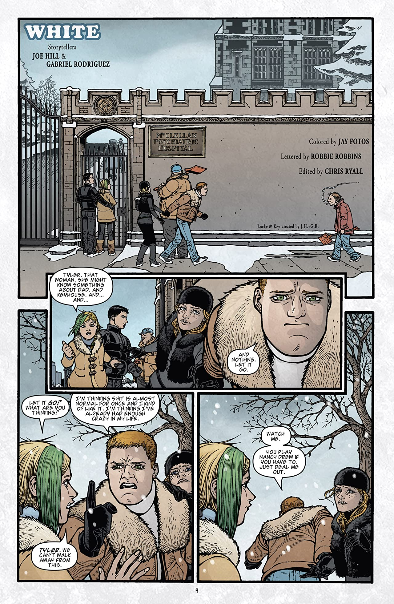 Locke & Key: Keys To the Kingdom #2 (of 6)