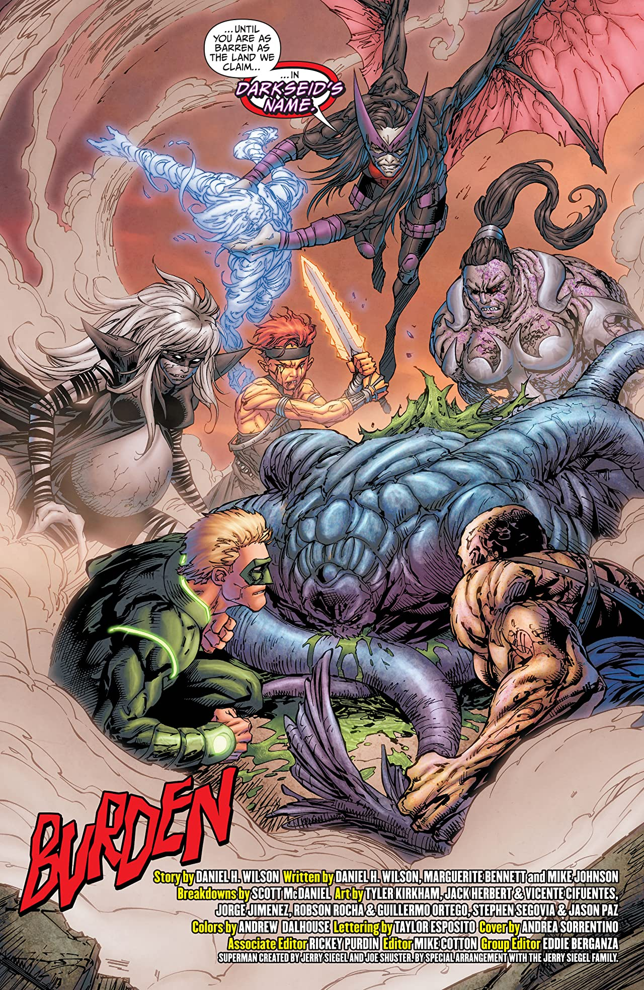 Earth 2: World's End (2014-2015) #13