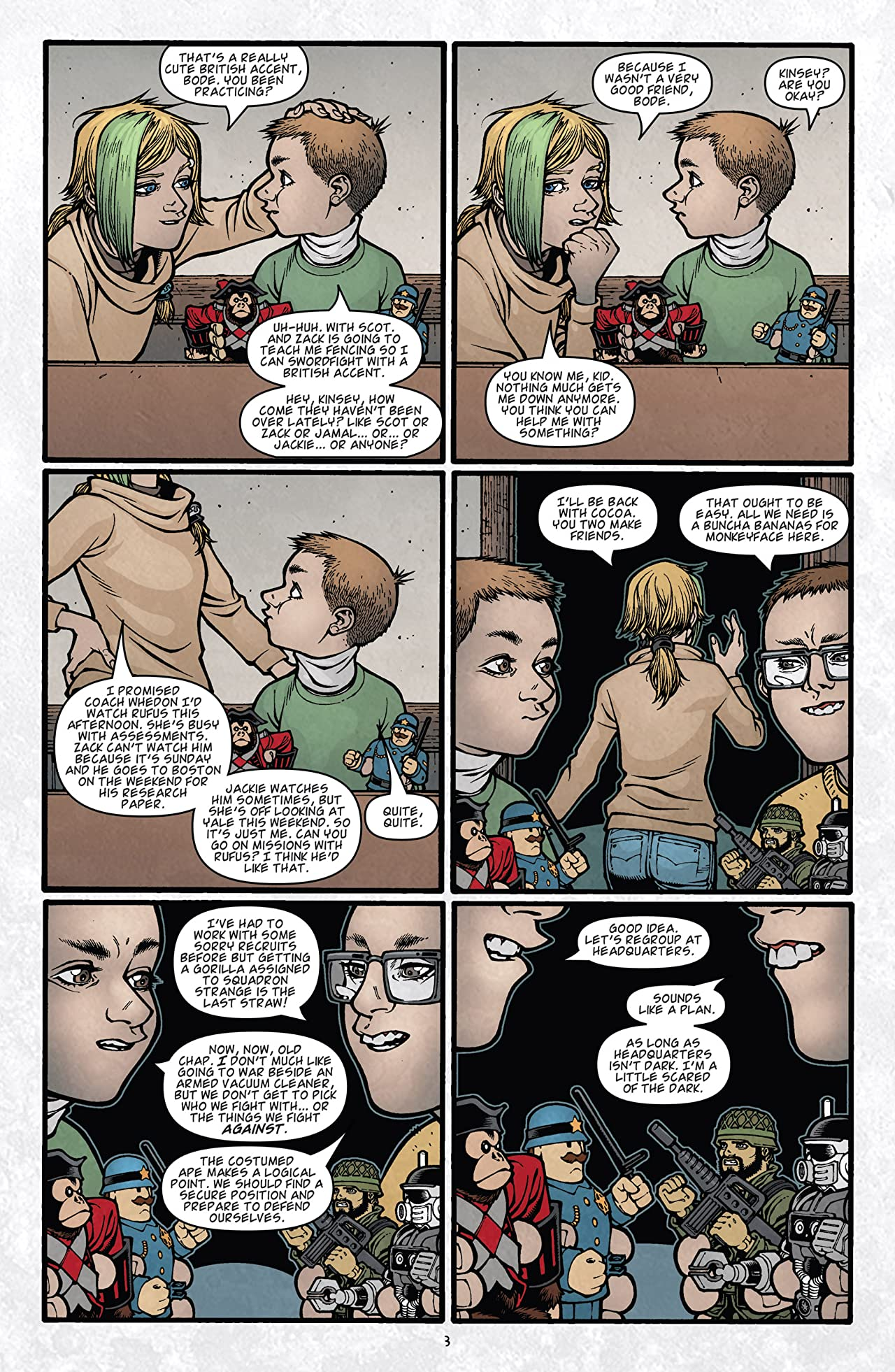 Locke & Key: Keys To the Kingdom #4 (of 6)