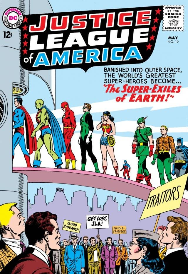 Justice League of America (1960-1987) #19
